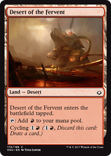 Desert of the Fervent - HOU