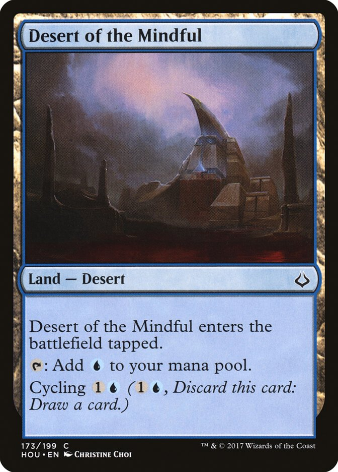 Desert of the Mindful - HOU