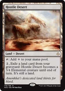 Hostile Desert - HOU