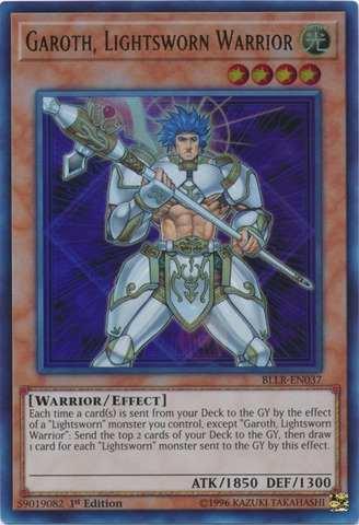 Garoth, Lightsworn Warrior - BLLR-EN037 - Ultra Rare