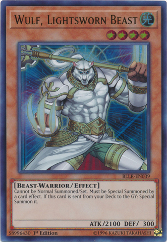 Wulf, Lightsworn Beast - BLLR-EN039 - Ultra Rare