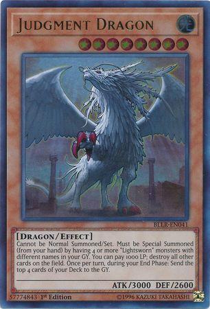 Judgment Dragon - BLLR-EN041 - Ultra Rare