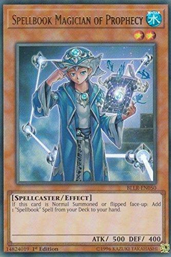 Spellbook Magician of Prophecy - BLLR-EN050 - Ultra Rare
