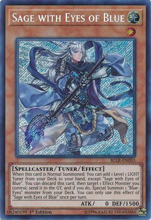 Sage with Eyes of Blue - BLLR-EN055 - Secret Rare
