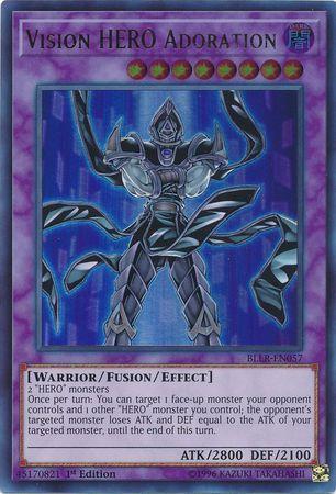 Vision HERO Adoration - BLLR-EN057 - Ultra Rare