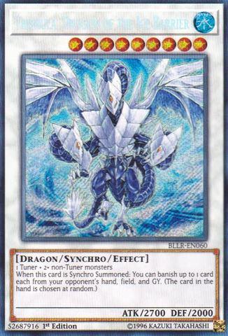 Trishula, Dragon of the Ice Barrier - BLLR-EN060 - Secret Rare