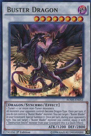 Buster Dragon - BOSH-SP052 - Ultra Rare
