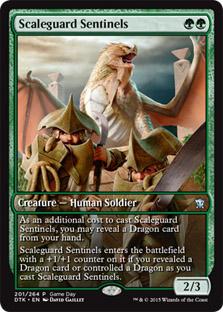 Scaleguard Sentinels (Dragons of Tarkir Game Day) (Full-Art)