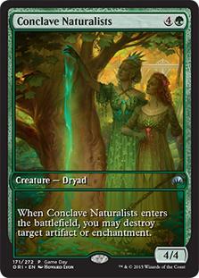 Conclave Naturalists (Magic Origins Game Day) (Full-Art)