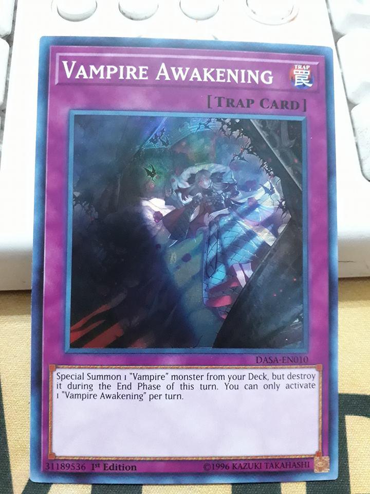 Vampire Awakening - DASA-EN010 - Super Rare