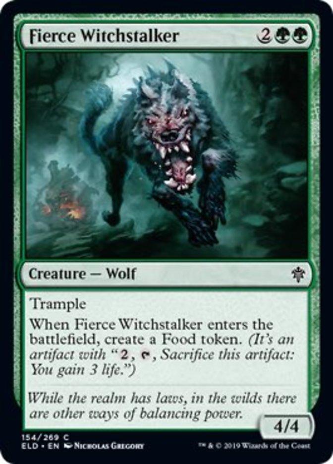 Fierce Witchstalker - ELD - C