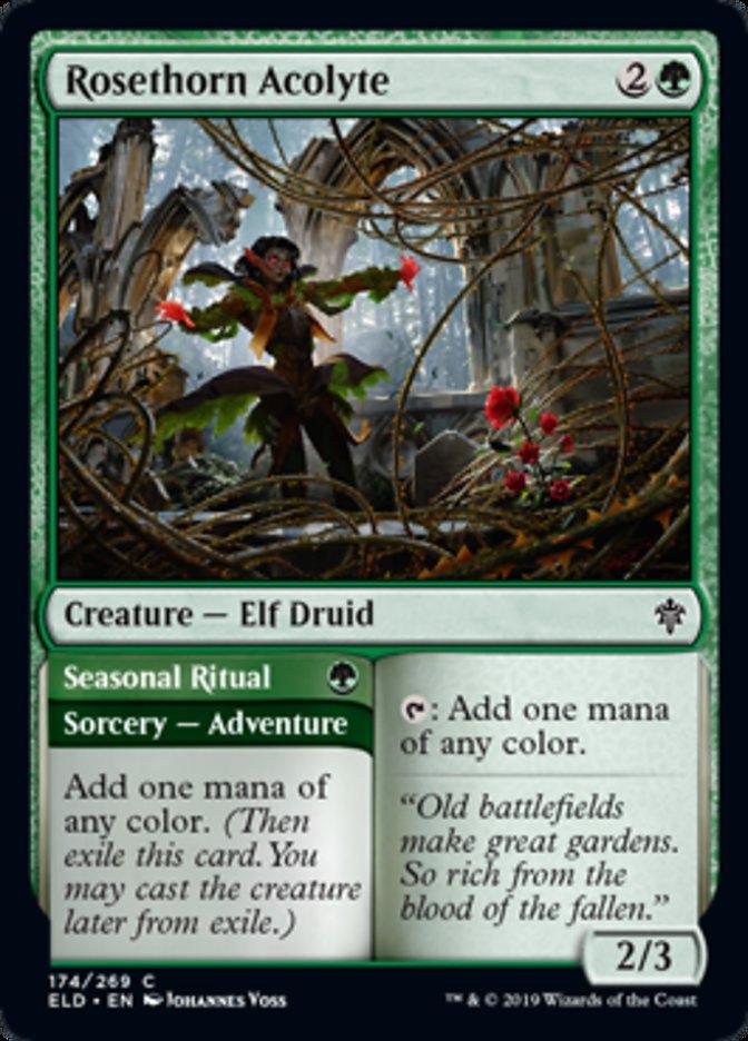 Rosethorn Acolyte - ELD - C
