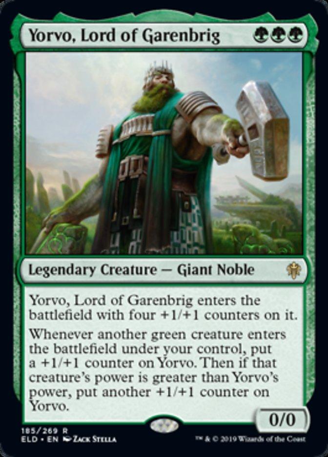 Yorvo, Lord of Garenbrig - ELD - R