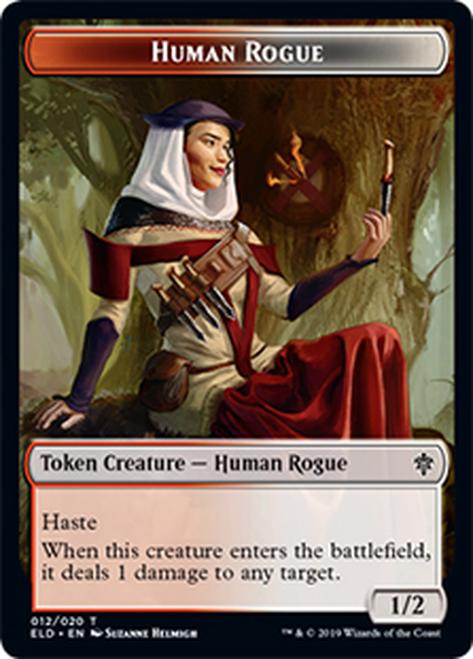Human Rogue Token - ELD - 012 - T