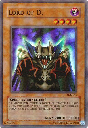 Lord of D. - SDK-041 - Super Rare