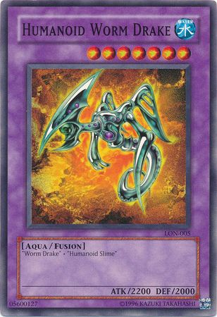 Humanoid Worm Drake - LON-005 - Common