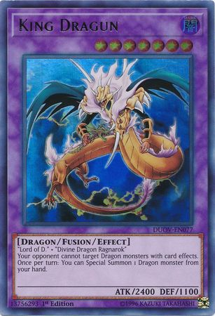 King Dragun - DUOV-EN077 - Ultra Rare