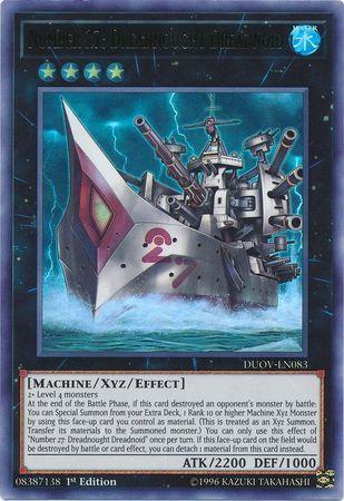Number 27: Dreadnought Dreadnoid - DUOV-EN083 - Ultra Rare