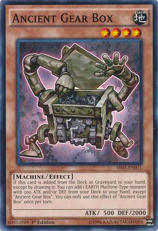 Ancient Gear Box - SR03-EN011 - Common