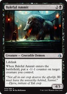 Baleful Ammit - AKH