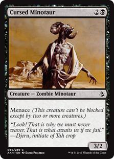 Cursed Minotaur - AKH