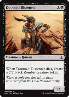 Doomed Dissenter - AKH