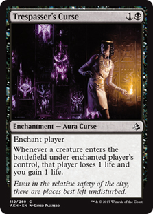 Tresspaser's Curse - AKH