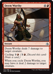 Deem Worthy - AKH