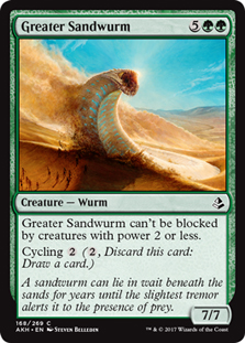 Greater Sandwurm - AKH