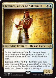 Temmet, Vizier of Naktamun - AKH