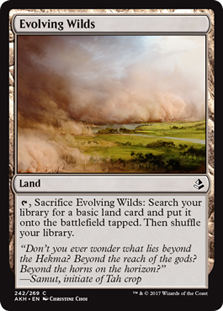 Evolving Wilds - AKH - C