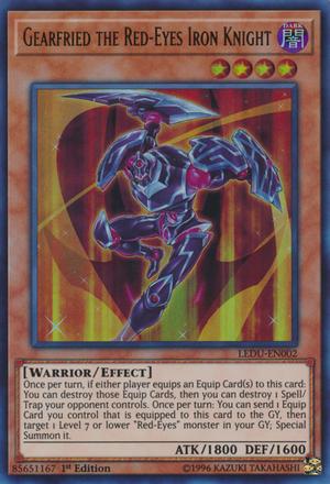 Gearfried the Red-Eyes Iron Knight - LEDU-EN002 - Ultra Rare