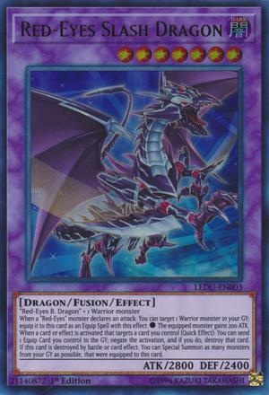 Red-Eyes Slash Dragon - LEDU-EN003 - Ultra Rare