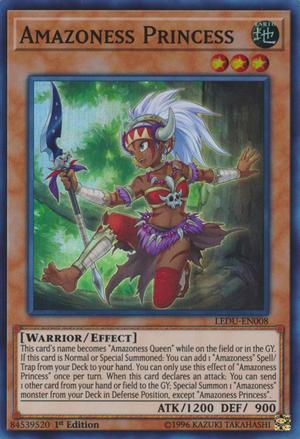 Amazoness Princess - LEDU-EN008 - Super Rare