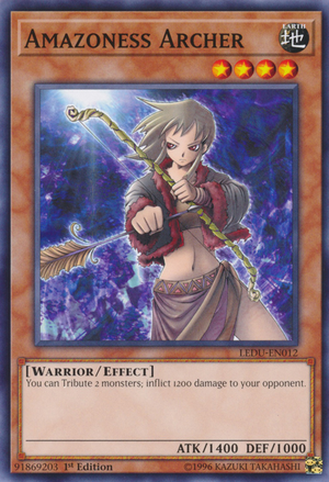 Amazoness Archer - LEDU-EN012 - Common