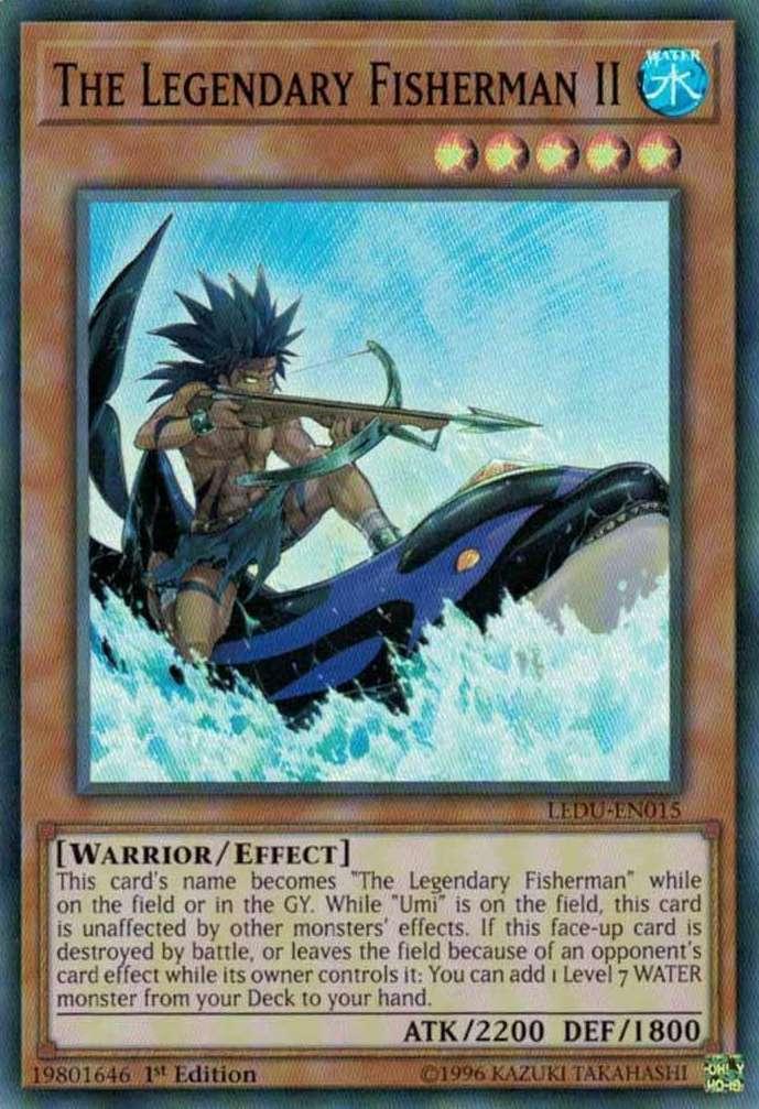 The Legendary Fisherman II - LEDU-EN015 - Super Rare