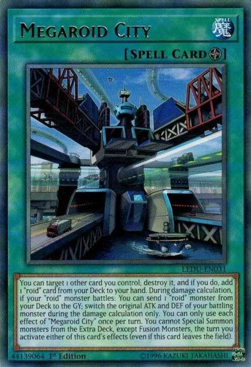 Megaroid City - LEDU-EN031 - Rare