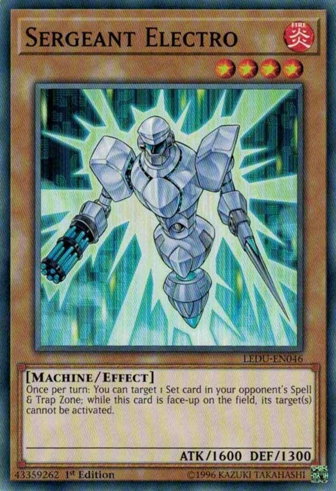 Sergeant Electro - LEDU-EN046 - Common