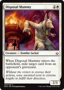 Disposal Mummy - HOU  - C