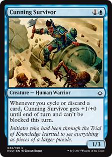 Cunning Survivor - HOU - C