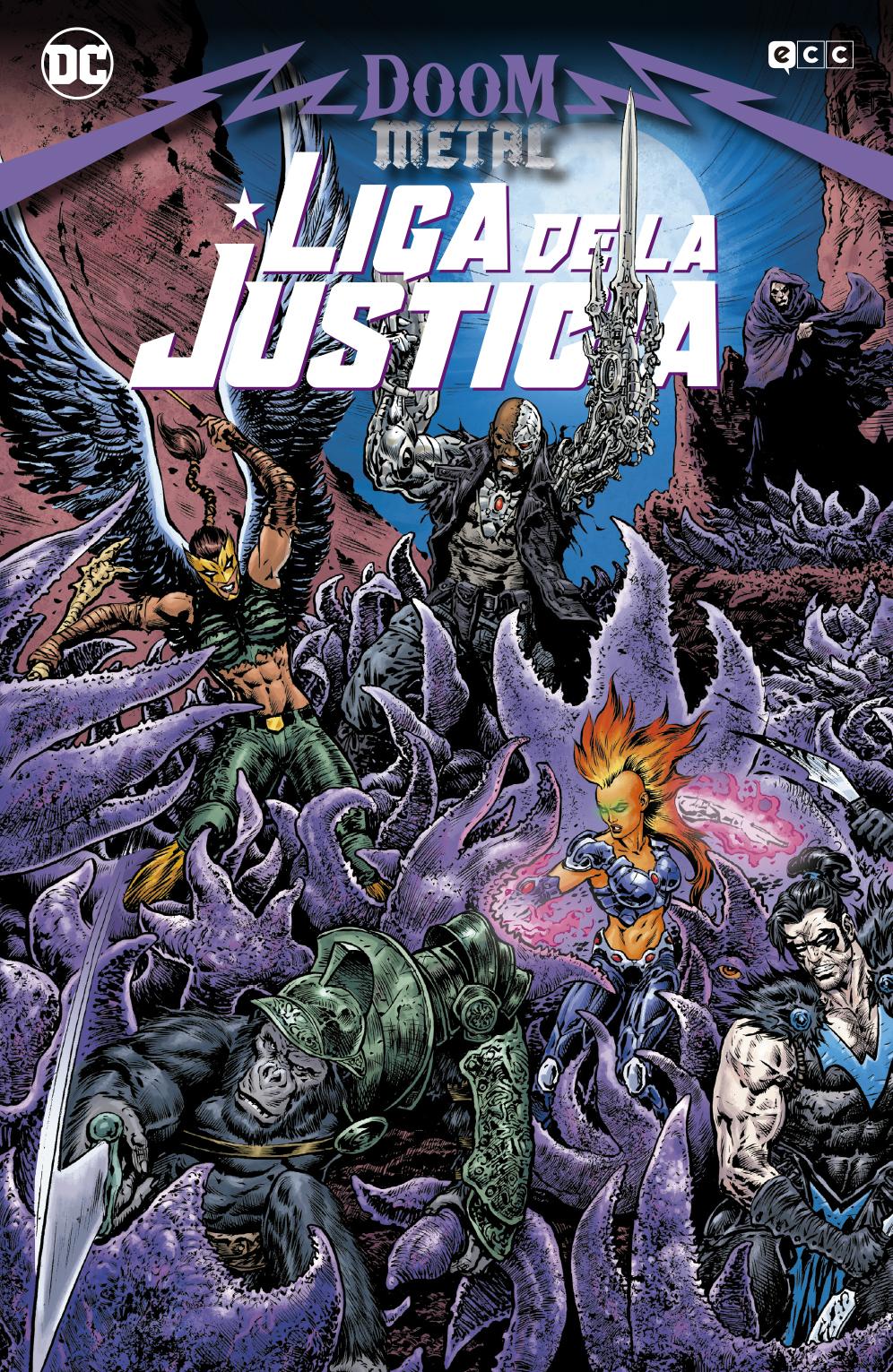 Liga de la justicia: Doom Metal
