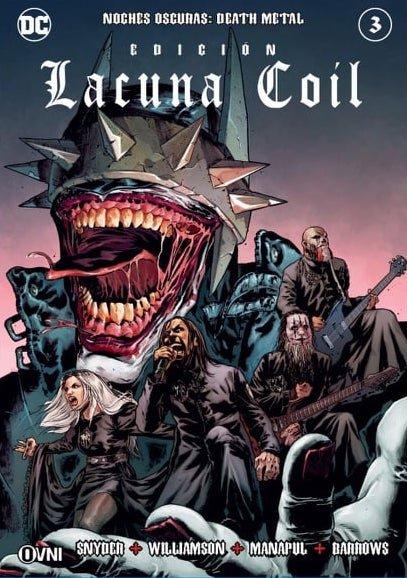 OVNIPRESS - BATMAN Noches Oscuras: DEATH METAL #3 (Lacuna Coil)