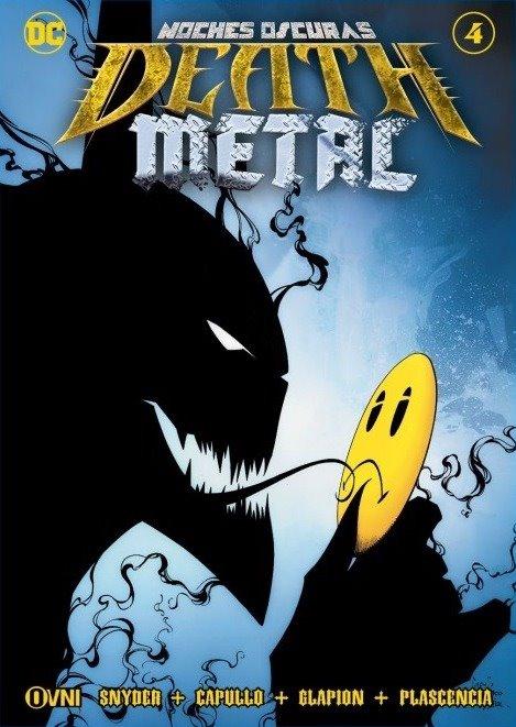 OVNIPRESS - BATMAN Noches Oscuras: DEATH METAL #4