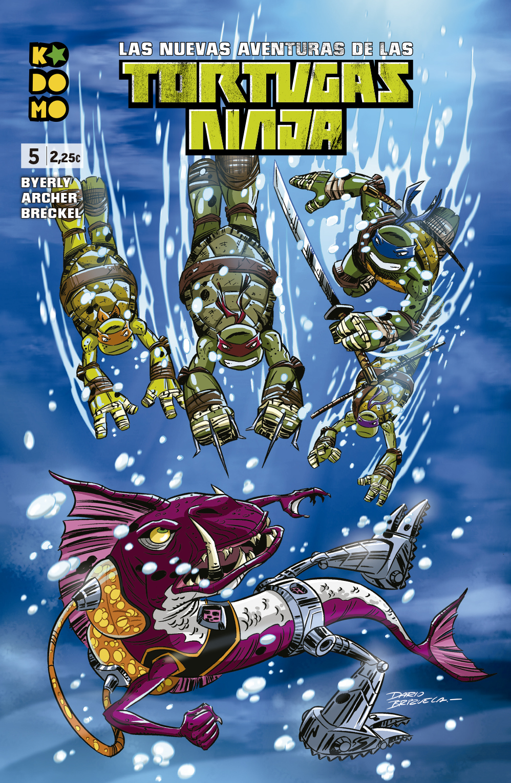 Las nuevas aventuras de las Tortugas Ninja núm. 5