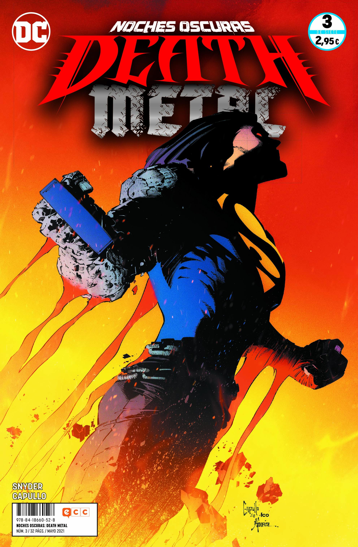 ECC - GRAPA - Noches oscuras: Death Metal núm. 03 de 7