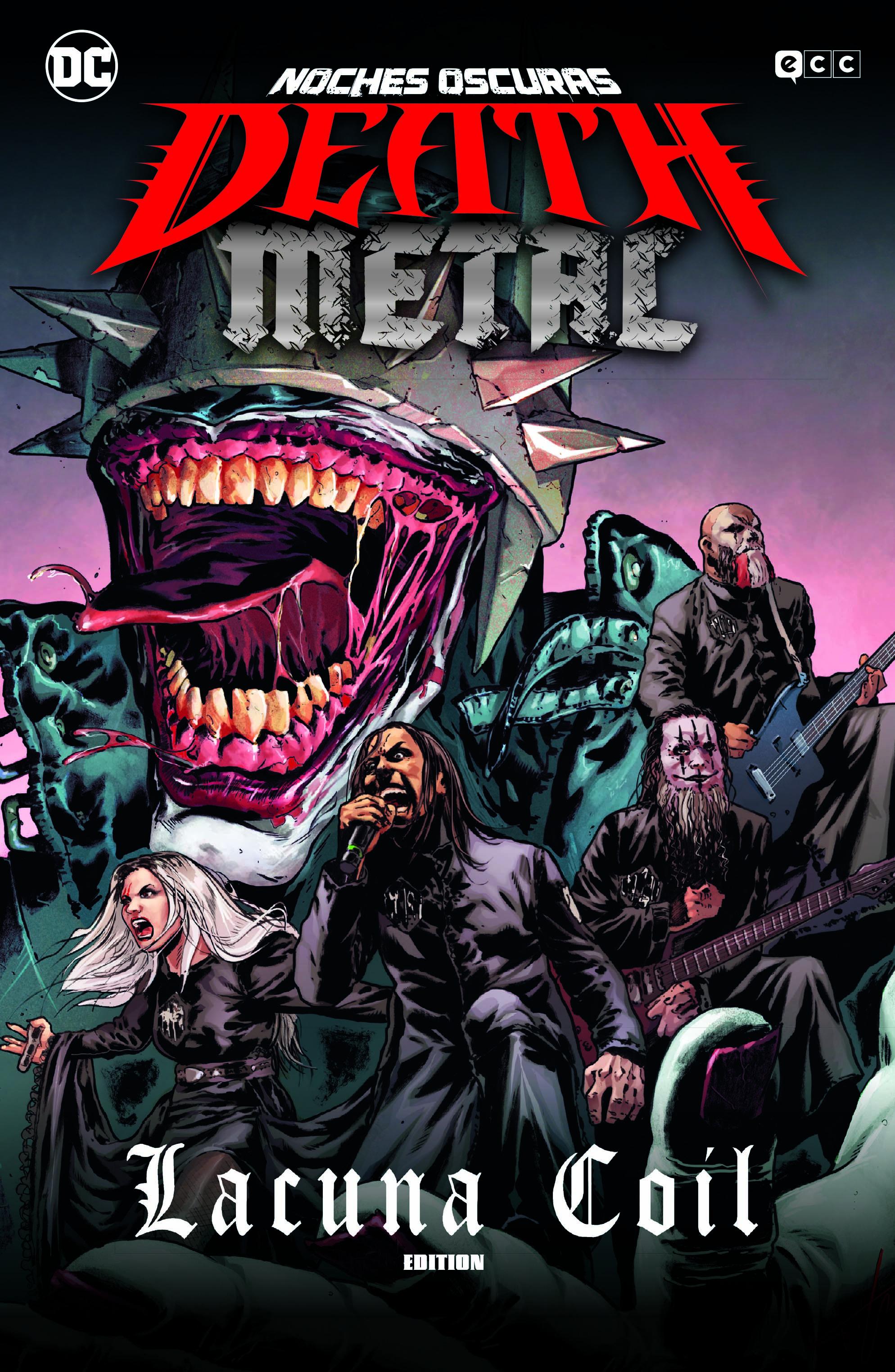 ECC - RUSTICA - Noches oscuras: Death Metal núm. 03 de 7 (Lacuna Coil Band Edition) (Rústica)