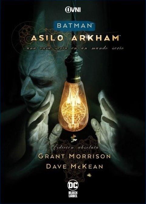 OVNIPRESS - BLACK LABEL - BATMAN: ASILO ARKHAM EDICIÓN ABSOLUTA