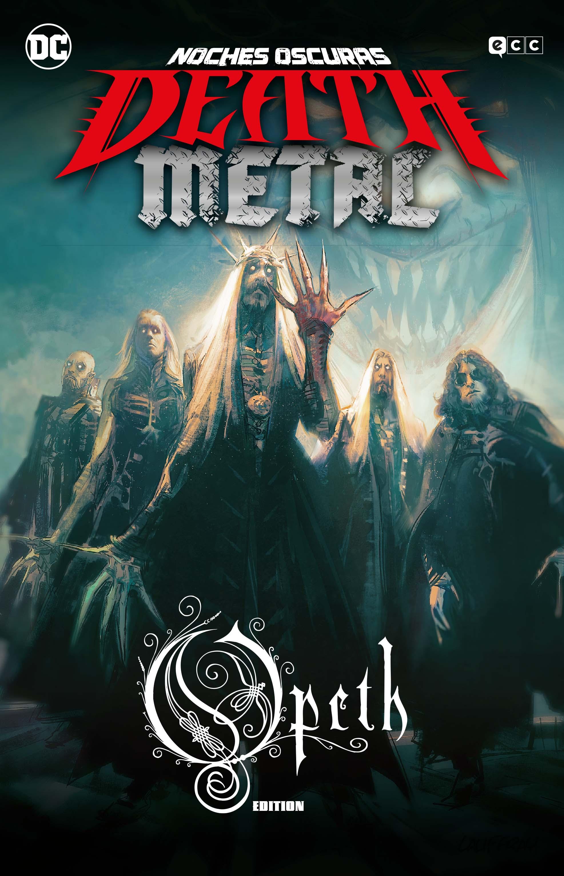 ECC - Noches oscuras: Death Metal núm. 4 (Opeth Band Edition) (Cartoné)
