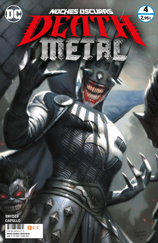 ECC - Grapa - Noches oscuras: Death Metal núm. 04 de 7