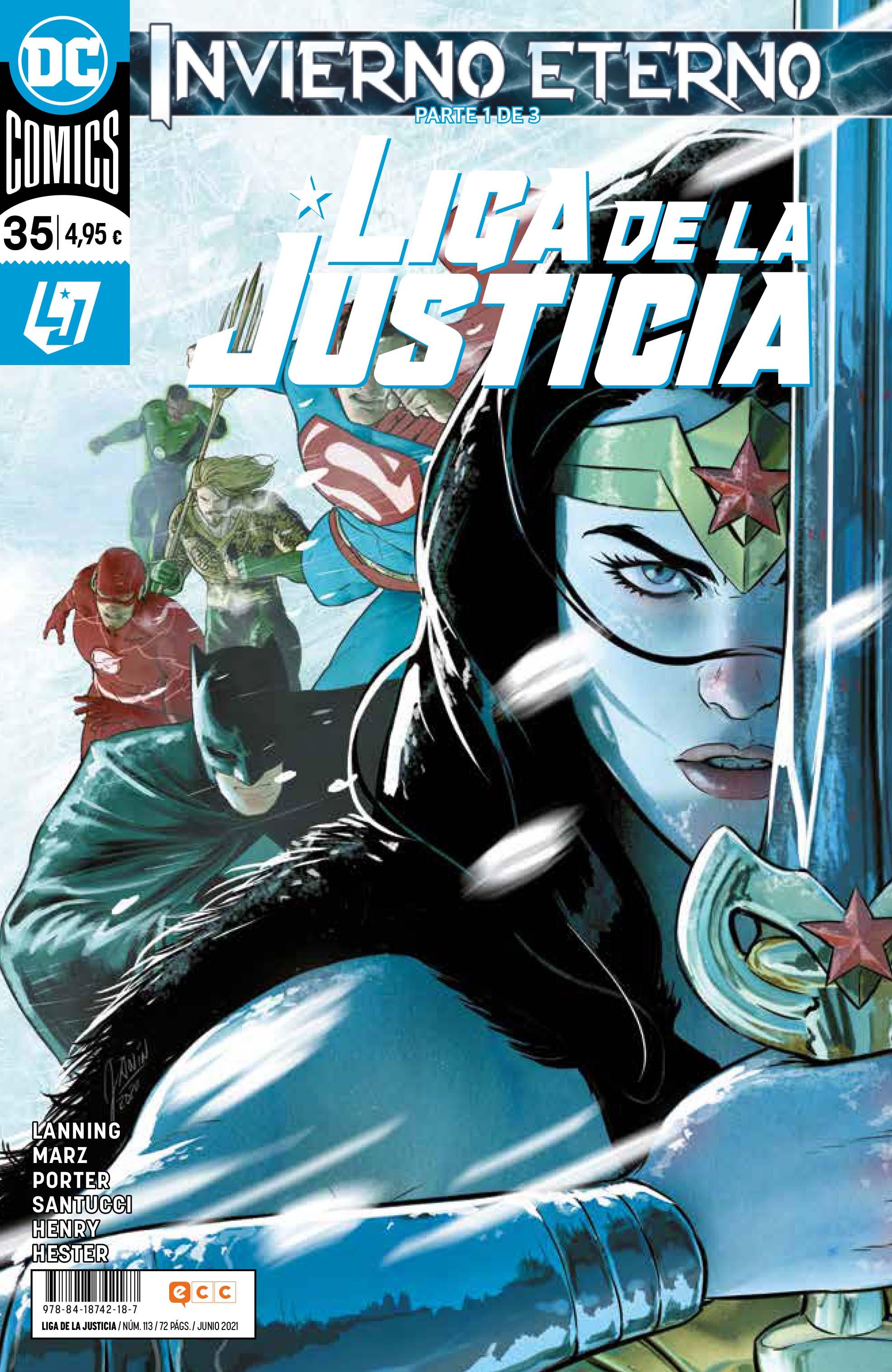 Liga de la Justicia núm. 113/ 35